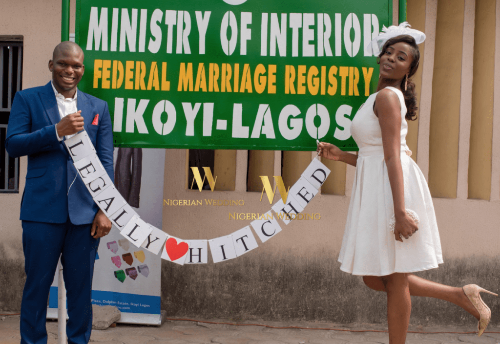 Image result for court wedding in Nigeria