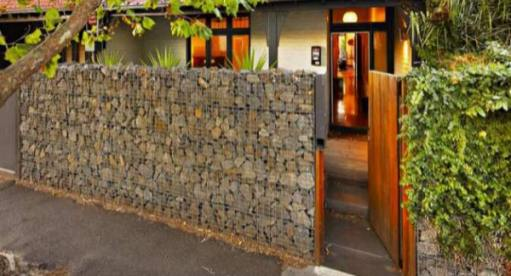 Gabion Fences And Stone Walls Rock Fence Design UK