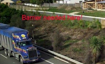 gabion noise barrier walls
