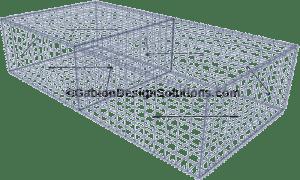 Pro-Gabions® 2x1x0.5