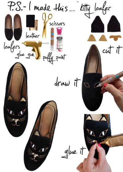 Cum iti restilizezi pantofii de care te-ai plictisit