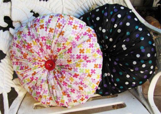 Umbrelele vechi - cum le reciclezi