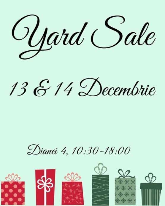 yard sale decembrie
