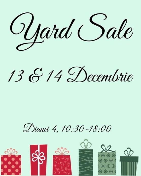 yard sale decembrie