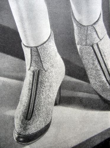 1928 - cizme cu fermoar
