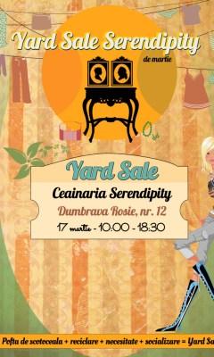 Yard Sale Serendipity - editia de martie