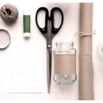Borcane goale reciclate deco