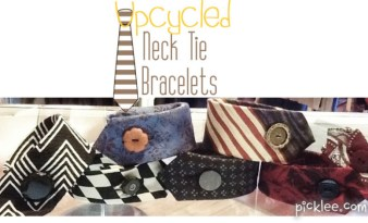 upcycled-neck-tie-bracelet