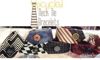 upcycled-neck-tie-bracelet