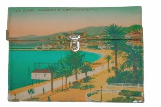 Plic Cannes - colectia Postcards 3127 bags by Oana Lazar