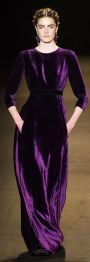 Catifeaua - manevra vestimentara de toamna