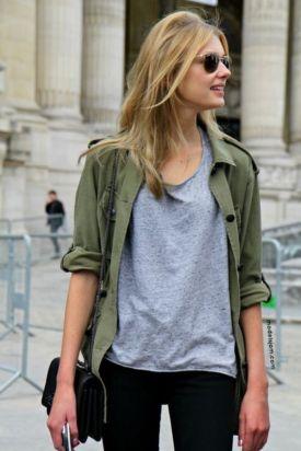 Tricoul gri - cum il purtam creativ