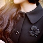 Paltonul negru – cum il imbrac creativ
