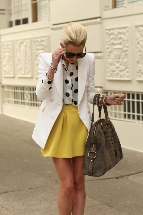 Asocieri coloristice cu galben