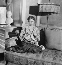 Madame Roosevelt era o mare tricoteuza