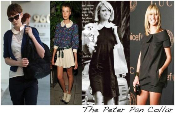 Vedetele si variantele lor de guler Peter Pan