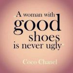 Puterea pantofilor de a schimba o tinuta