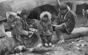 Parka initiala a inuitilor