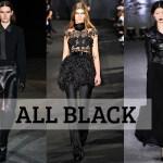 Negru cand nu stii altceva si negru cand stii totul, niciodata la mijloc.