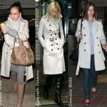Celebritatile in trenciuri Burberry