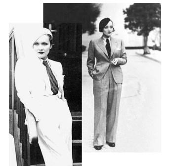 Marlene Dietrich si costumul barbatesc, ce socanta trebuie sa fi fost imaginea pentru acele vremuri