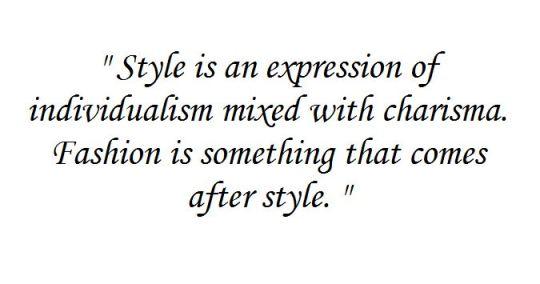 Si stilul se educa!