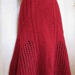 Fustele tricotate, o alternativa de weekend la blugi