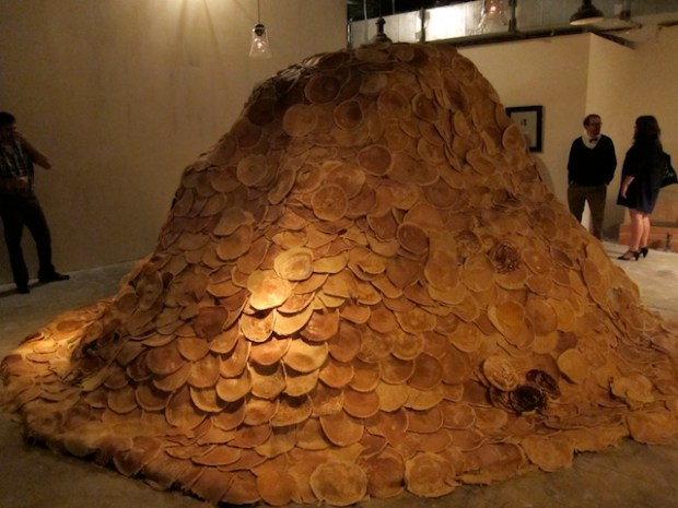 The Church of Pancakes, Andreas Nilsson si instalatia din 2,150 clatite