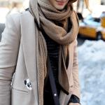 Fularul – manevra vestimentara de iarna