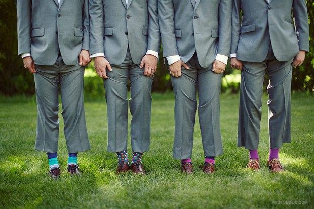 O super idee de nunta, sosete colorate pentru mire si cavaleri!