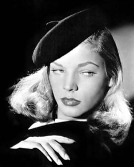 Lauren Bacall si bascul senzual