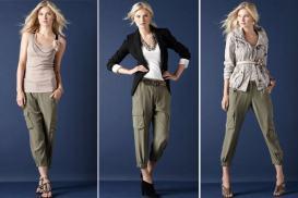 Variante de convertire a pantalonilor cargo in lumea femeilor elegante