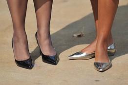Michelle Obama, o mare purtatoare de kitten heels