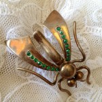 Brosa insecta www.vintageboutique.ro