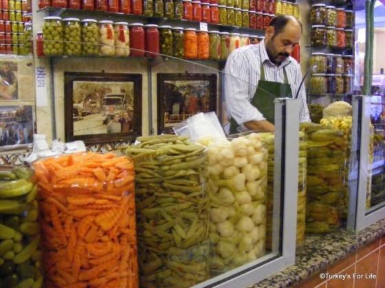 Magazin de muraturi in Istanbul