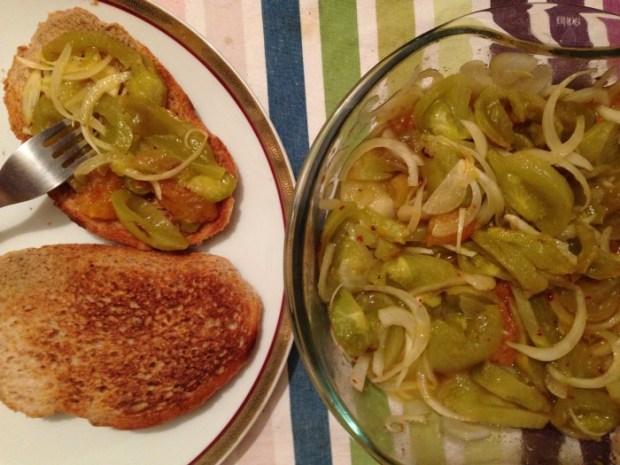 Salata de gogonele coapte