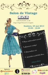 Salonul de vintage - 25 mai, la Casara Design
