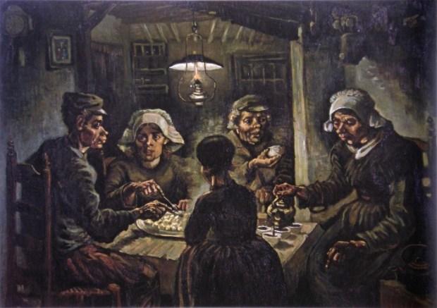 Mancatorii de cartofi - Vincent van Gogh