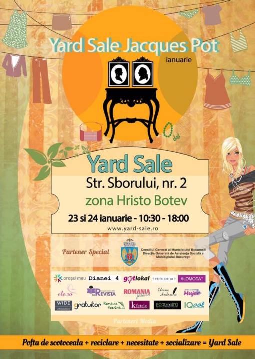Yard Sale 23-24 ian