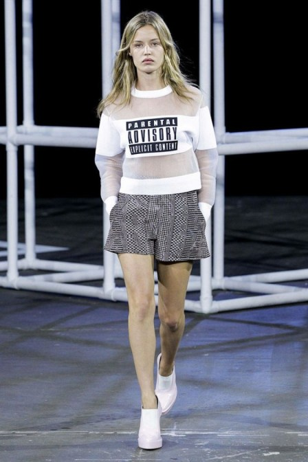 Alexander Wang T-shirt Credit: Tumblr.com