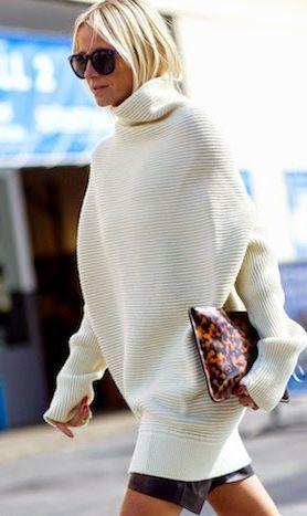 Cum purtam hainele supradimensionate