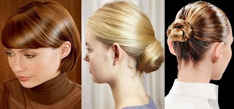 Hairstyle pentru mediul profesional