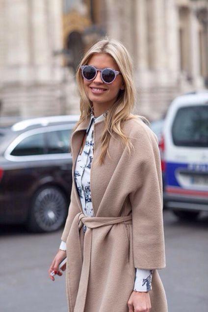 Paltonul camel - manevra vestimentara de toamna