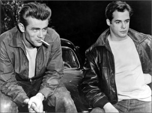 Un alt tshirt man - James Dean