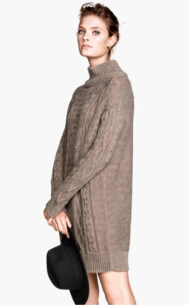 Pentru tinere si indraznete, puloverele lungi chiar pot fi rochii