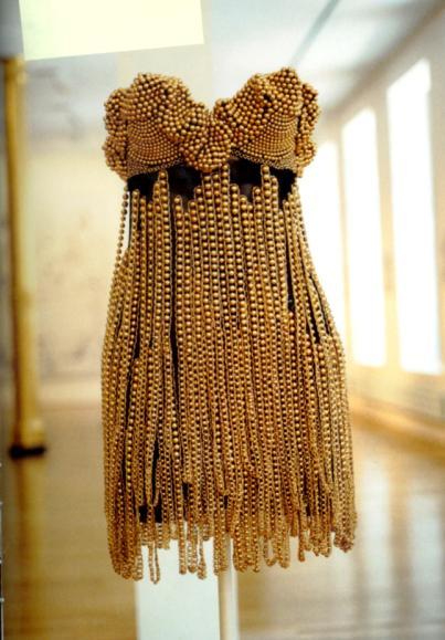 Tina Turner's Azzedine Alaia Dress for Vogue (image courtesy of bonafidechainblinger.com)