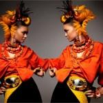 Vogue Italia bijuterii - exces de ornamente, culori tipatoare, rasete si samba