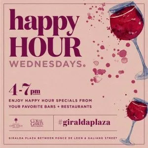 Happy Hour Wednesdays on Giralda