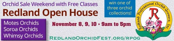 Redland Open House Orchid Weekend
