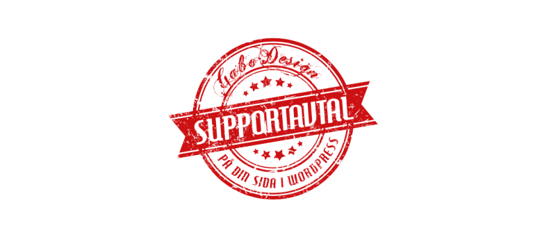 Supportavtal emblem